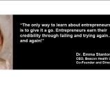 Dr Emma Stanton; Founder of Diagnosis