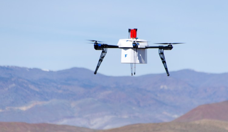 flirtey medical drone delivery