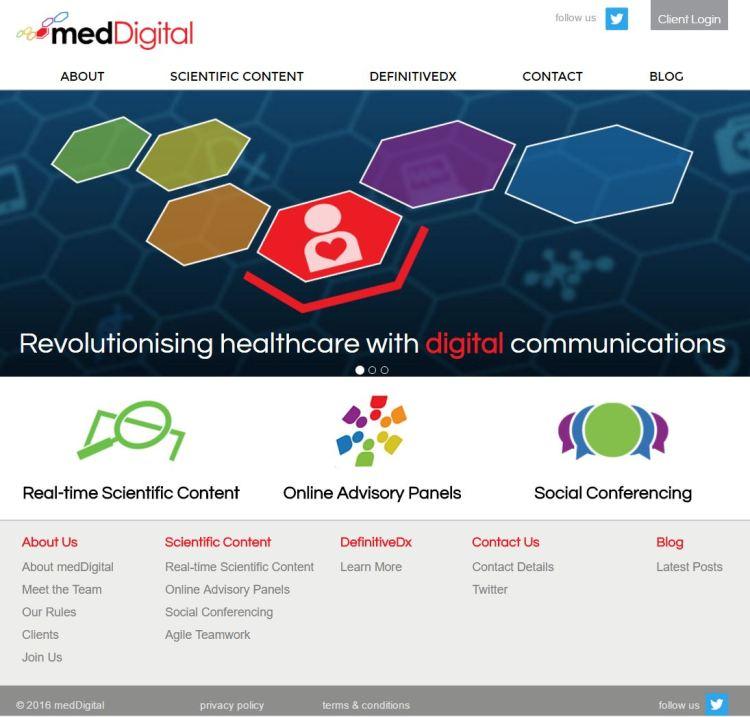 meddigital website