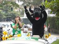 Celebración de la Caravana Antitaurina en Medellín