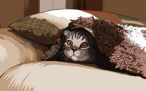 Ilustración gato