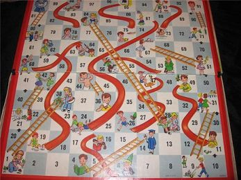 Chutes and Ladders, in case you don't have a four-year-old