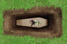 Coffin-Buried-Ground-Graveyard-Photo