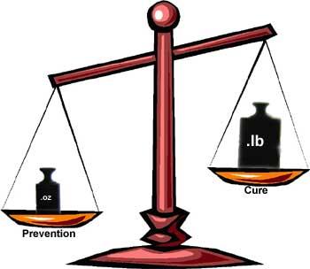 prevention-VS-cure