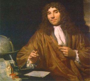 Antony van Leeuwenhoek on a particularly good hair day