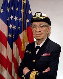 Commodore Grace M. Hopper (and I don't mean maybe)