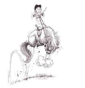 Thelwell.Jumping