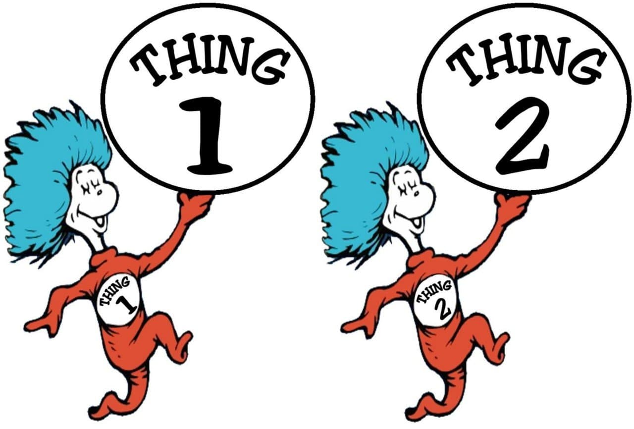 thing 1 and thing 2 iron on transfer for sale mistletoenholly com rh doctorramey com  thing 1 and thing 2 clipart black and white