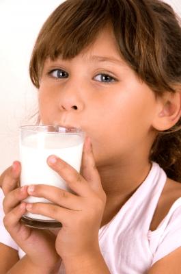 drinking cows milk