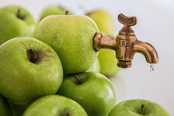 Diluted apple juice, preferred fluids for treating mild gastroenteritis in kids