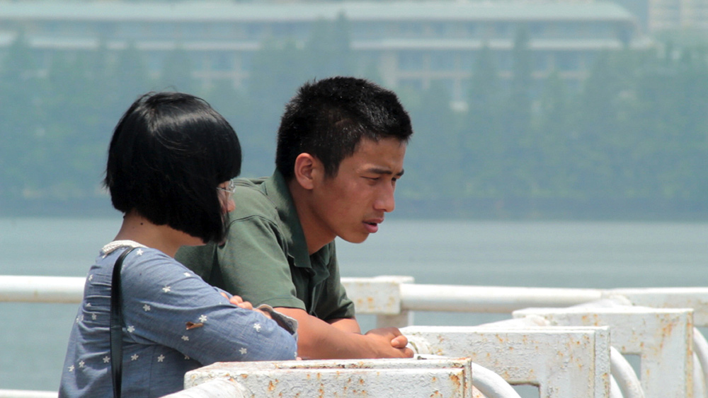 From Lou Li's 'Li Wen at East Lake.' Courtesy of Film Society of Lincoln Center