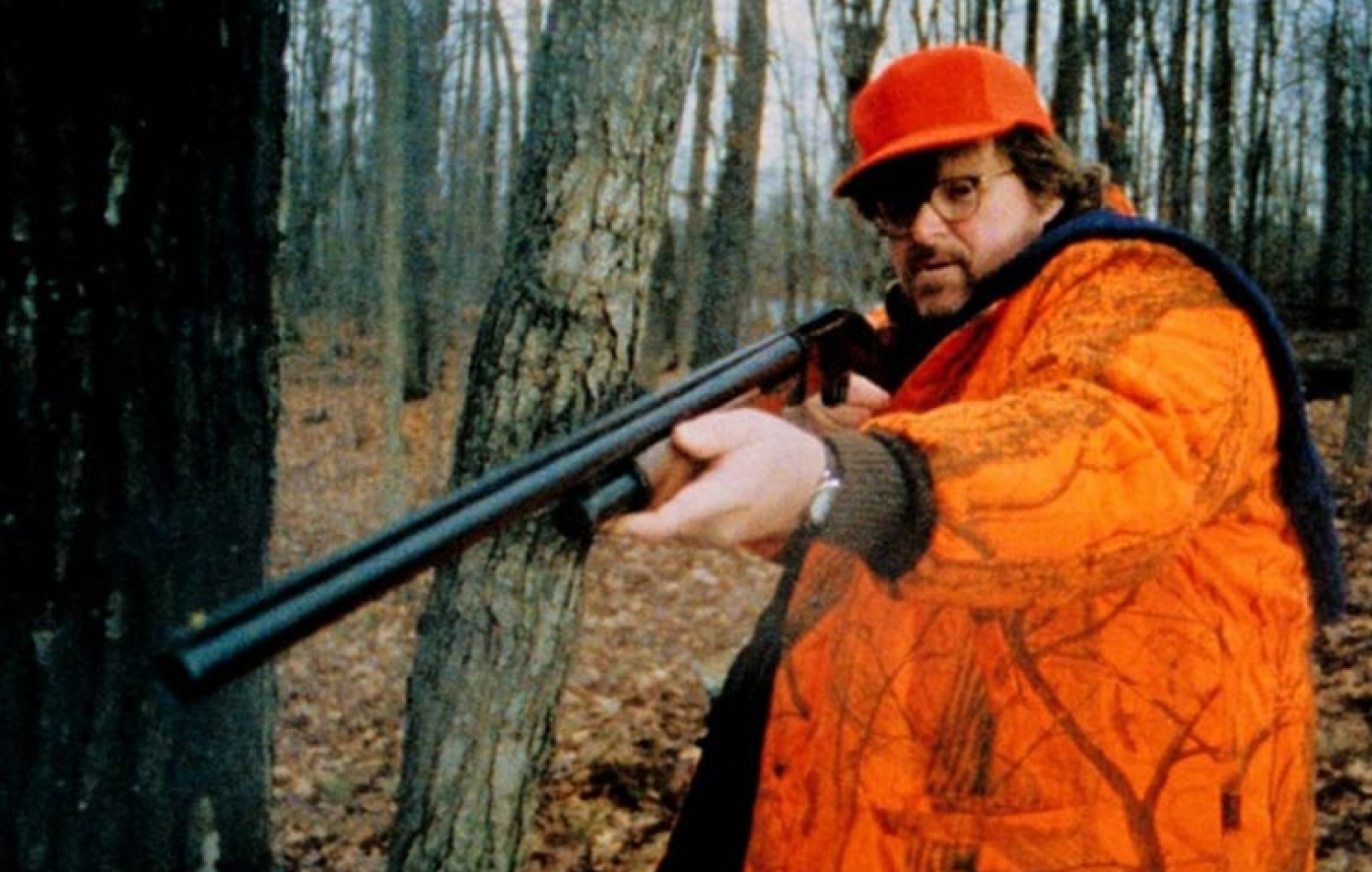 Michael Moore Guns For The Real Issues In Bowling For