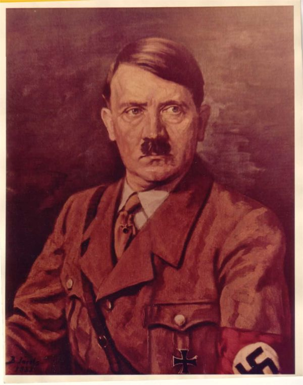 Rare Pictures of Adolf Hitler in Full Color