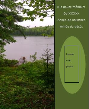 Signet... Le lac... signet