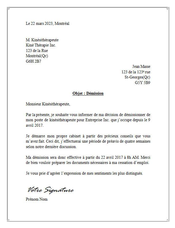 modele_lettre_de_demission_pour_kine_kinesitherapeute