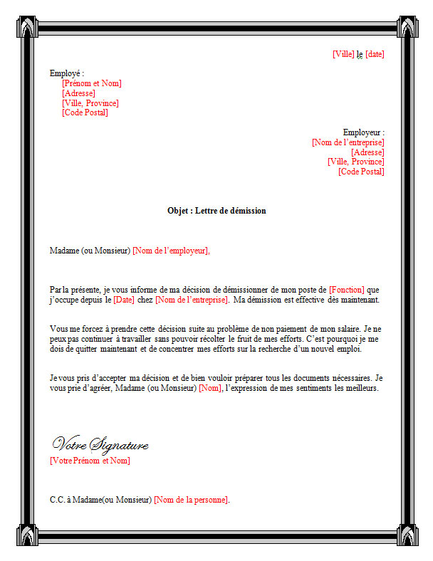 lettre_de_demission_pour_non_paiement_de_salaire