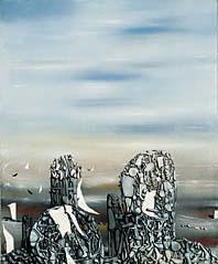 Yves Tanguy, Le ciel traqué, 1951