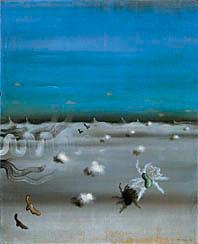 Yves Tanguy, Le regard de l'ambre, 1929