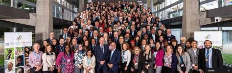 wetenschappers van de World Health Organization Global Vaccine Safety Summit