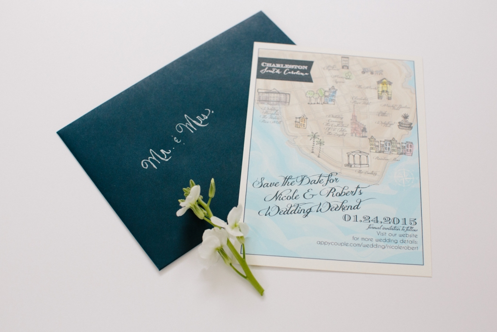 Personalized Save Dates
