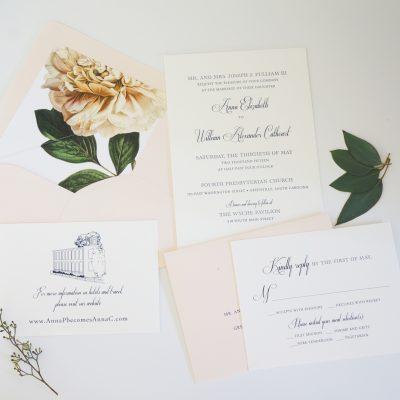 Greenville Wedding Invitation