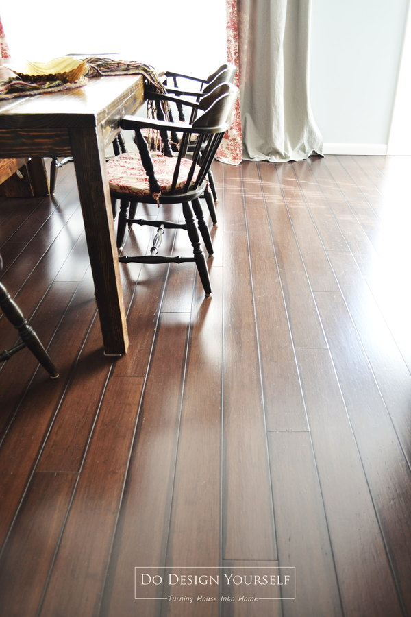 What you should know about bamboo flooring dodesignyourself when you choose a type and color you like take a sample the samples should be conveniently located near the display if not ask a store associate for solutioingenieria Choice Image