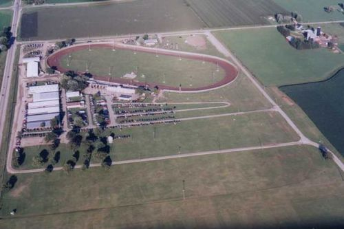 Dodge County Fairgrounds Aerial Photo