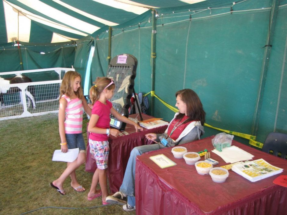 Family Farm Education Tent
