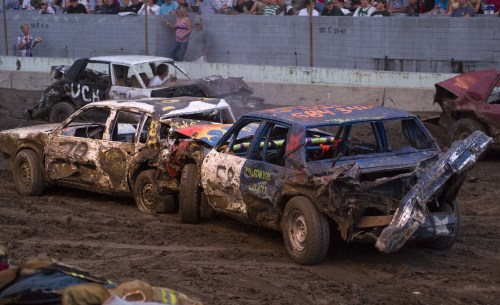 Dirt Track Demo Derby