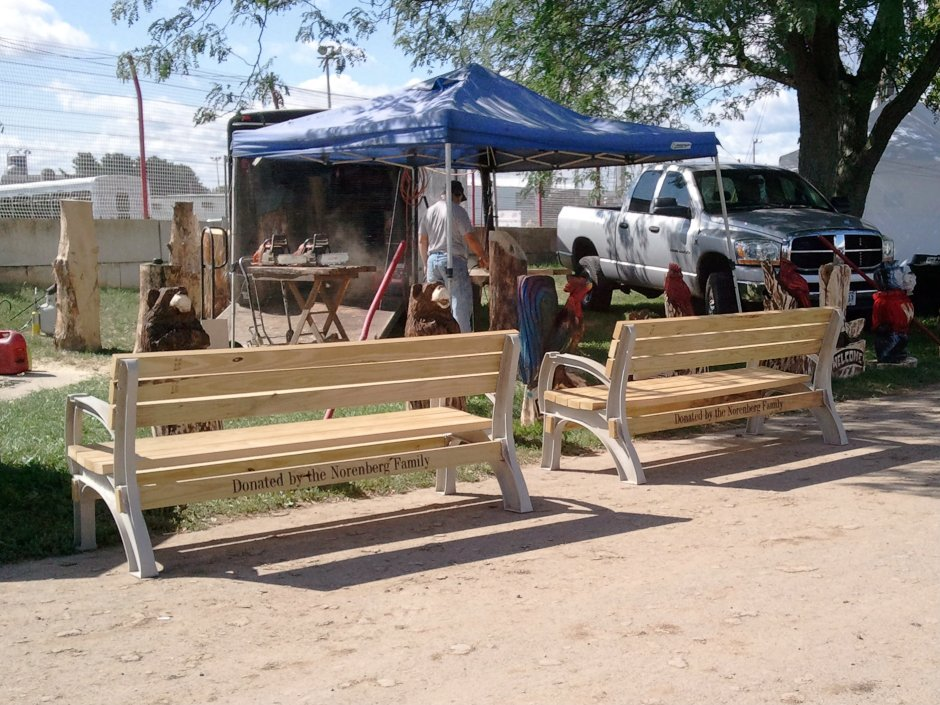 Support the Fairgrounds with a Bench Donation