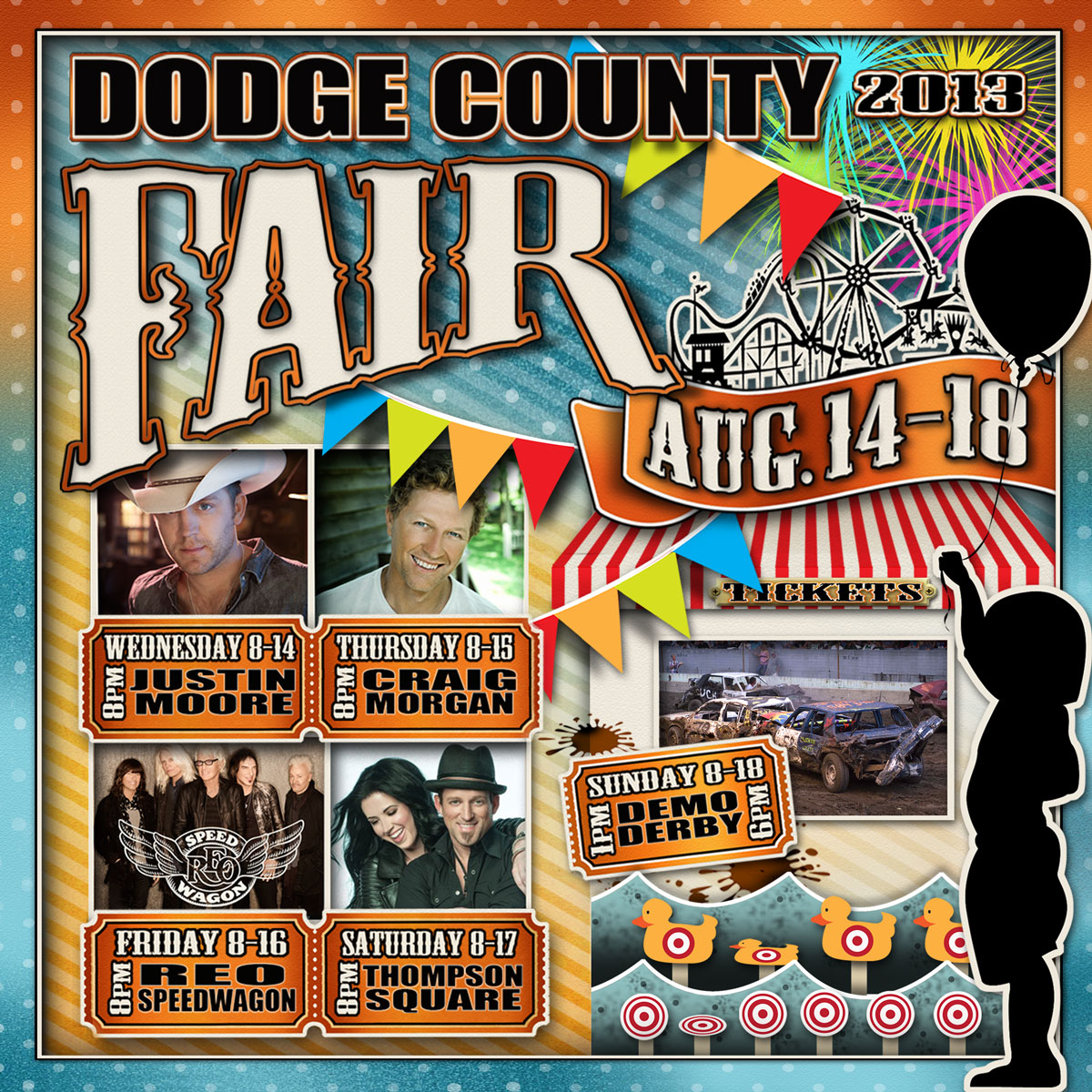 Dodge County Fair Advertisement