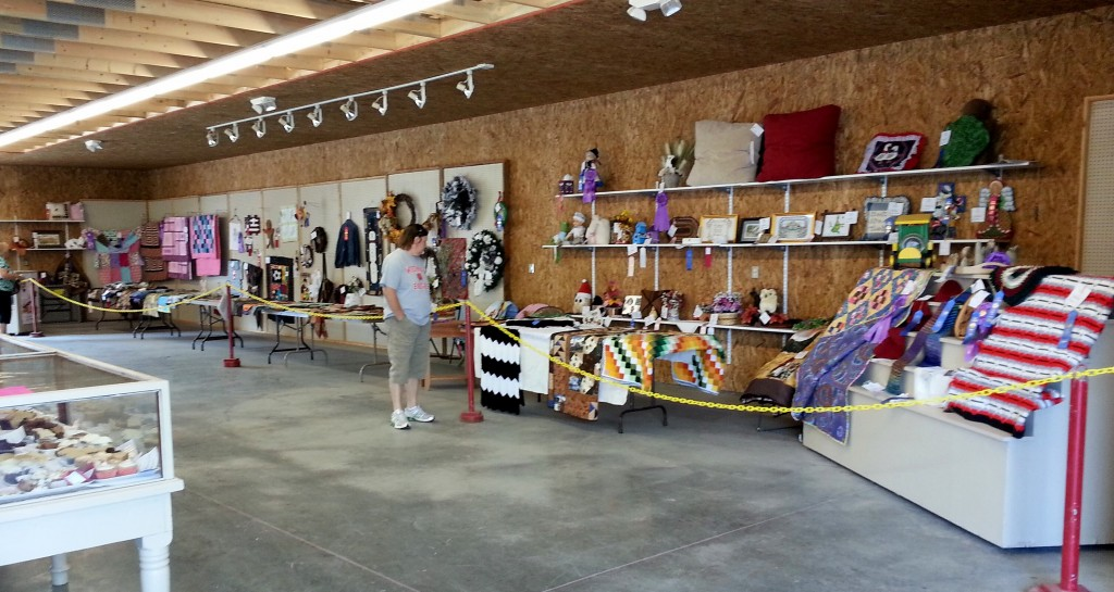 A new Open Class Exhibit Building was opened for the 2013 Dodge County Fair
