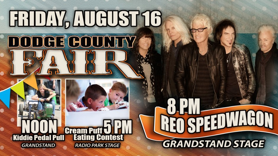 Dodge County Fair Friday Banner Ad