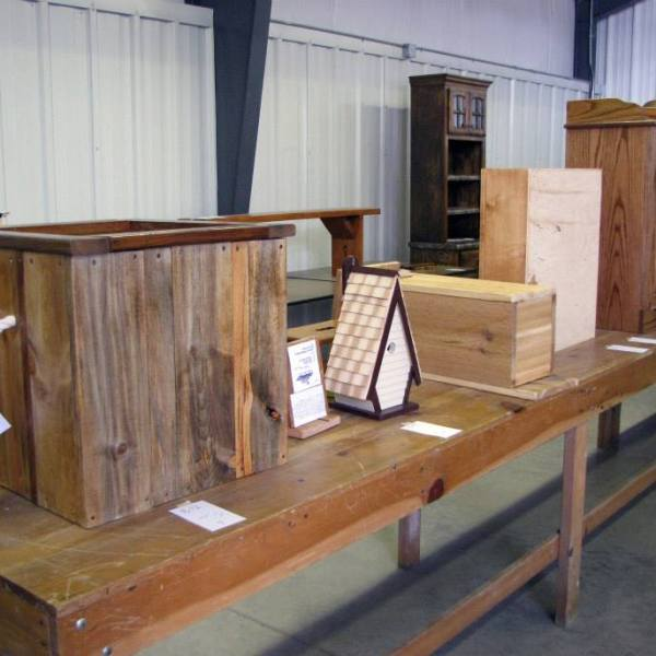 Junior Fair Woodworking Judging Results