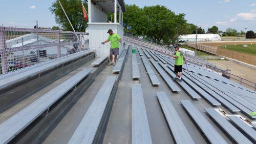 Schweitzer Spray Coatings Fairgrounds Improvements