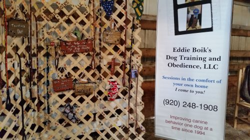 Eddie Boik's Dog Training and Obedience at the Dodge County Flea Market