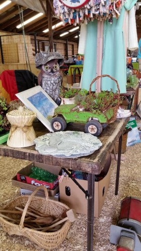 Flea Market vendor booth near Beaver Dam WI
