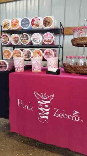 Pink Zebra at the Dodge County Flea Market