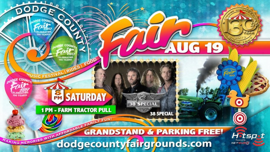 2017 Dodge County Fair Saturday August 19