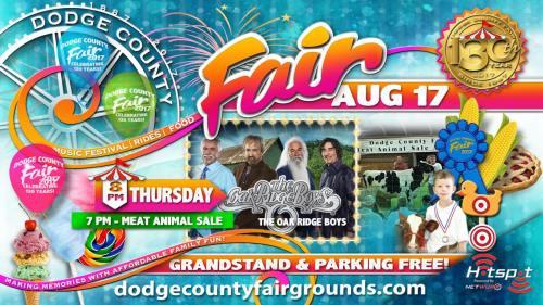 2017 Dodge County Fair Thursday August 17