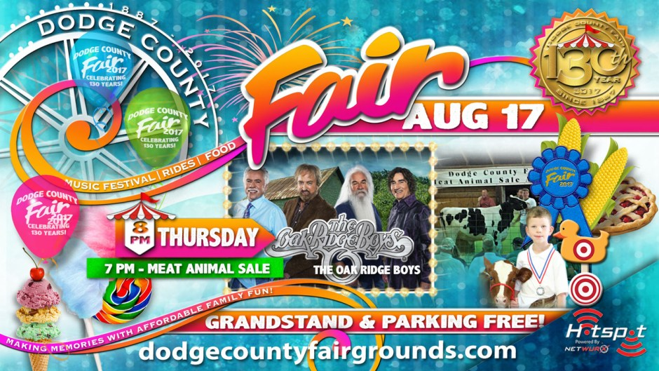 2017 Dodge County Fair Thursday August 17