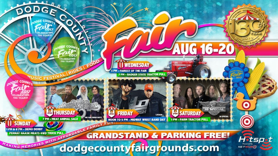 2017 Dodge County Fair Wisconsin Social Media