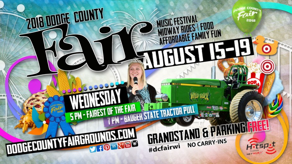 2018-08-15 Dodge County Fair Advertisement