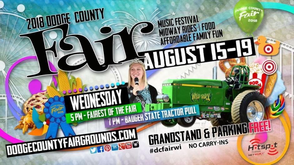 2018-08-15 Dodge County Fair Advertisement