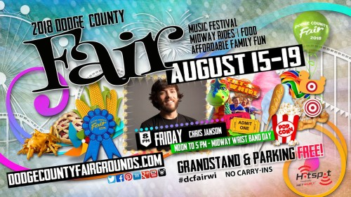 2018-08-17 Dodge County Fair Advertisement