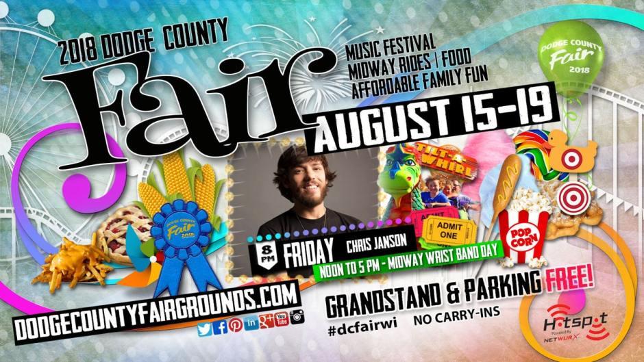 2018-08-17 Dodge County Fair Advertisement