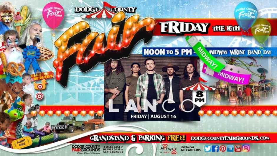 2019-08-16 Friday Dodge County Fair Promo