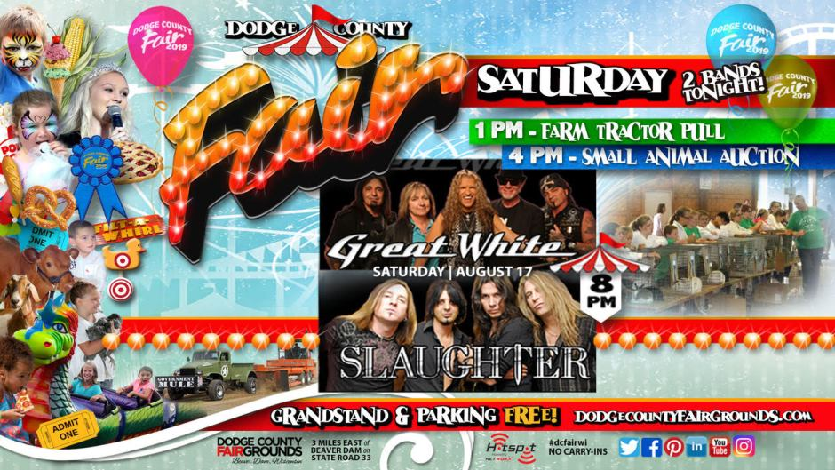 2019-08-17 Saturday Dodge County Fair Promo
