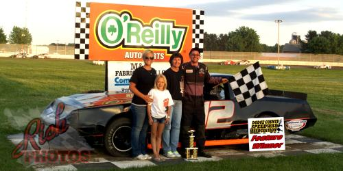 Steve Ecker won the DCSA Street Stock Feature