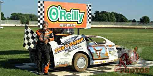 Jack Jones Heat Race Win at Fairgrounds Speedway